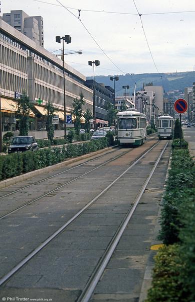 528 at Chaléassière on 31st August 1989.
