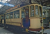 From an earlier generation of Strasbourg trams, car 56 of 199 (rebuilt in 1920) at the Paris Transport Museum in July 1984. The last first generation tram in Strasbourg ran on May 1st 1960 - the contract with the modern trams in Strasbourg couldn't be greater!