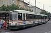 Man/Duwag car 8004 at Konigstplatz on 3rd August 1993.