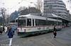 Man/Duwag car 8011 at Konigstplatz on 4th April 1991.
