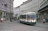 Man/Duwag car 8003 at Konigstplatz on 4th April 1991.