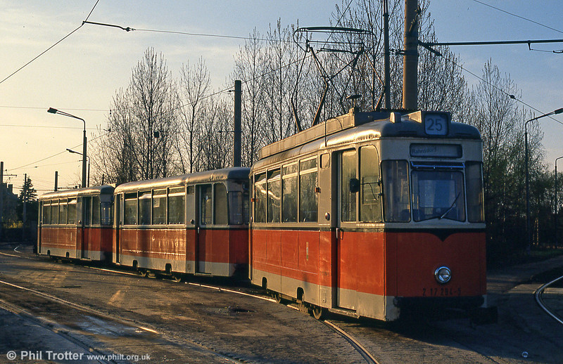 Berlin 294 at Schoneweide on 9th April 1991.