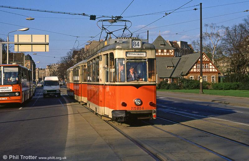 Berlin 013 at Kopenick on 9th April 1991.