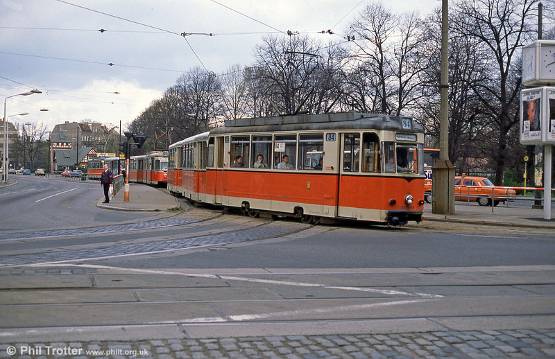 Berlin 012 at Kopenick on 9th April 1991.
