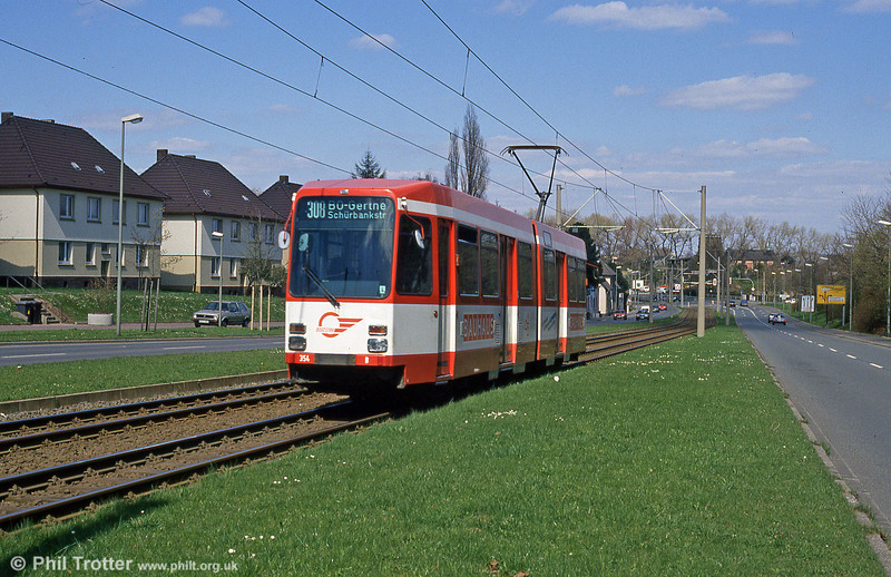 Bochum 354 at Rottmannstrasse on 18th April 1994.