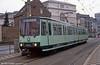 Bonn Stadtbahn car 7652 at Oxfordstrasse on 1st April 1991.