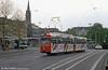 Bonn Duewag car 239 near the Hauptbahnhof on 21st April 1994.
