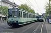 Bonn Stadtbahn car 8374 at Bertha-von-Suttner-Platz on 17th April 1994.