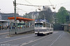 Bonn car 240 near the Hauptbahnhof on 1st April 1991.