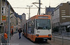 Braunschweig car 8158 at Hagnmarkt on 10th April 1993.