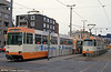 Braunschweig car 8164 at John F. Kennedy Platz on 10th April 1993.
