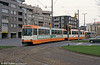 Braunschweig LHB car 8157 at John F. Kennedy Platz on 10th April 1993.