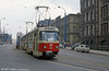 Chemnitz Tatra T3D no. 433 near the Hauptbahnhof.