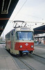 1970 Tatrat T3D no 1416 (ex-416), now a driver training car, at Theatrplatz.