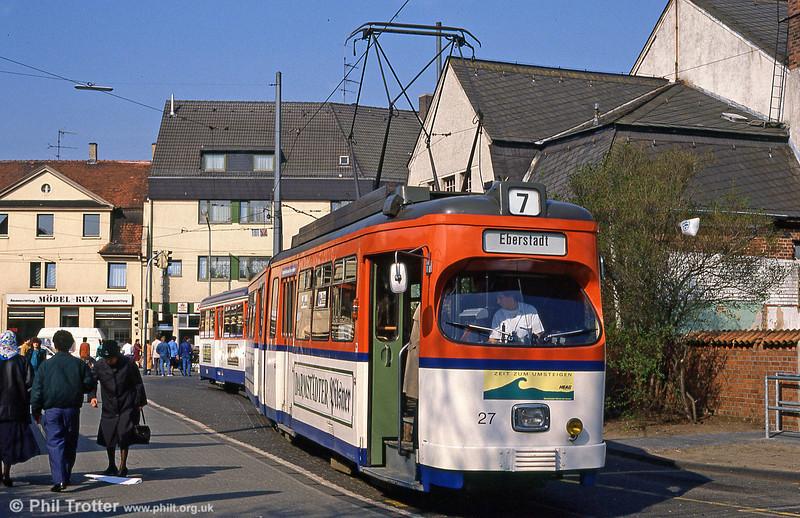 Darmstadt 27 at Arlheigen on 3rd April 1991.