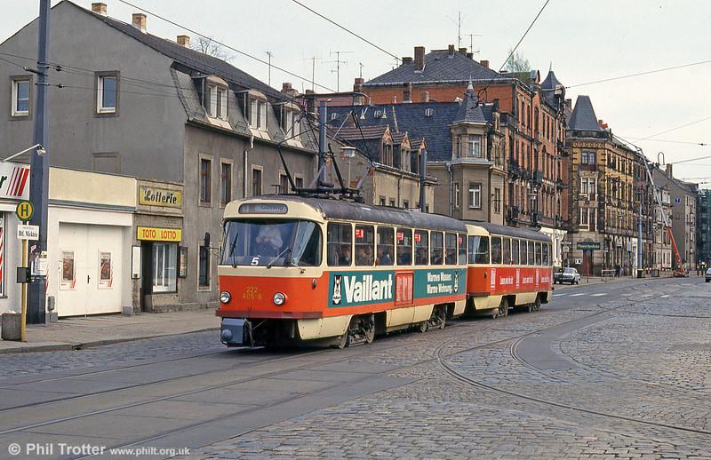 Dresden 405 at Mickten on 18th April 1993.