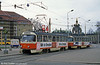 Dresden T4D 812 at Postplatz on 7th April 1991.