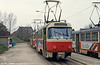 Dresden T4D car 439 at Coshutz on 18th April 1993.