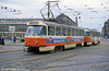 Dresden T4D car 045 at Postplatz on 7th April 1991.