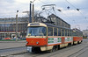 Dresden T4D car 441 at Postplatz on 7th April 1991.