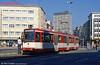 Duisberg Stadtbahn car 1008 at Ruhrstrasse, Mulheim on 12th April 1991.
