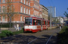 Duisburg 1019, a Duewag AM10 dating from 1987-88 at Konigstrasse.