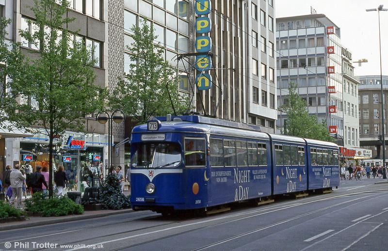 Car 2658 at Oststrasse on 23rd April 1994.