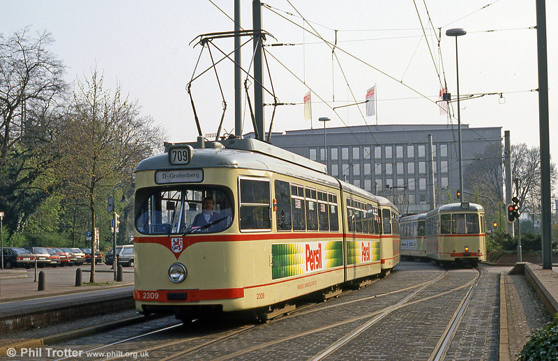 Car 2309 at Neuss on 21st April 1994.