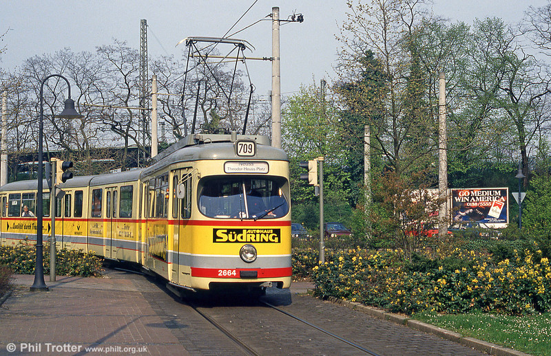 Car 2664 at Neuss on 21st April 1994.