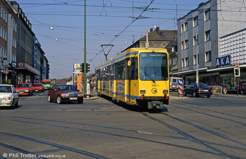 Essen 1004 at Helenenstrasse on 19th April 1994.