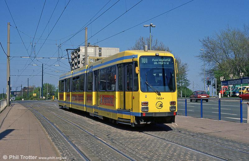 Essen 1156 at Am Freistein on 12th April 1991.