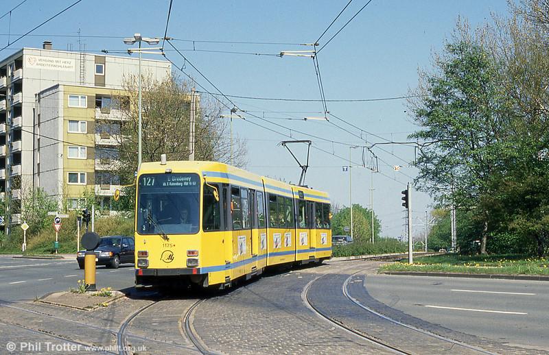 Essen 1175 at Am Freistein on 12th April 1991.