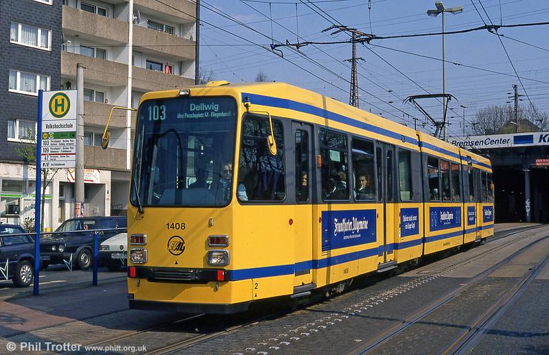 Essen 1408 at Volkshochschule on 19th April 1994.