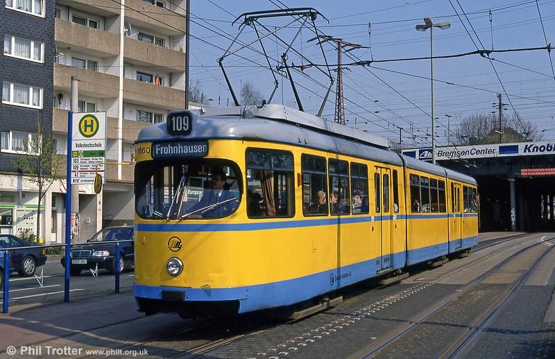 Essen 1860 at Volkshochschule on 19th April 1994.