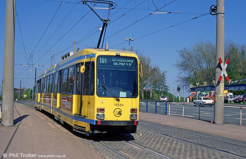 Essen 1155 at Am Freistein on 12th April 1991.