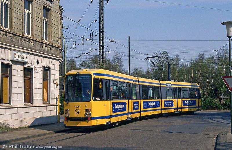 Essen 1408 at Dellwig on 19th April 1994.