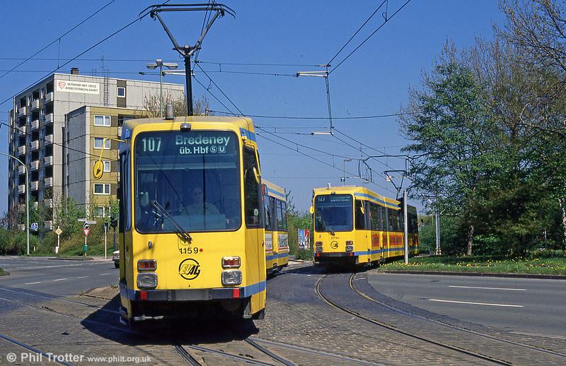 1159 at Friedrich Burger Strasse on 12th April 1991.