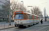 Frankfurt (Main) 712 at Stresemannallee on 2nd April 1991.