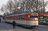 Frankfurt (Main) 820 at Gartenstrasse on 2nd April 1991.