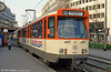 Frankfurt (Main) 686 at Baselerstrasse on 2nd April 1991.