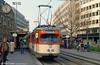 Frankfurt (Main) 615 at Baselerstrasse on 2nd April 1991.