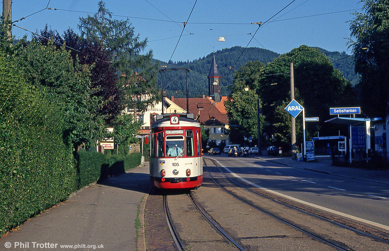 Freiburg GT4 105 at Gunterstal on 2nd August 1993.