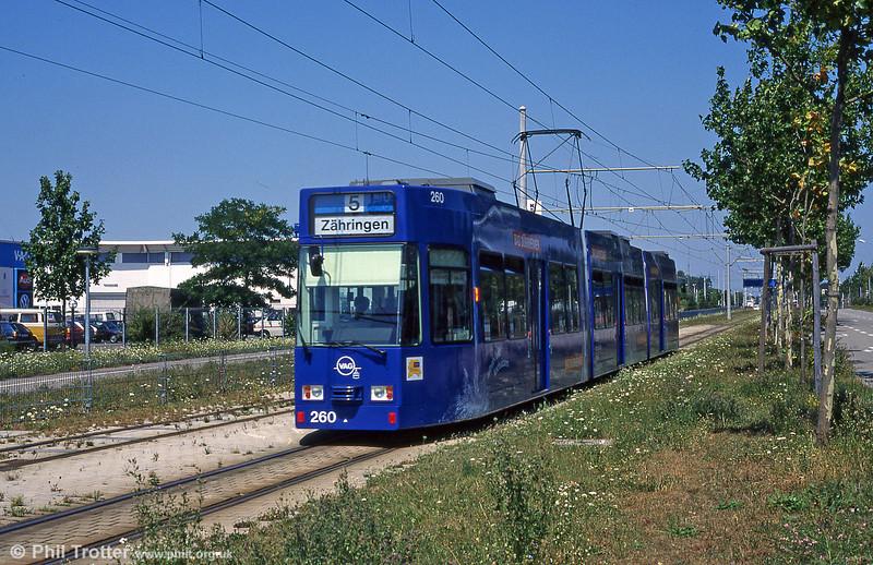 Freiburg 260 near Munzinger Strasse in August 1995.