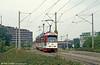 Duewag car 213 at Runzmattenweg on 4th August 1993.