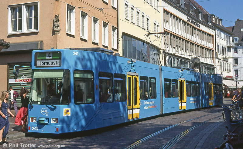 Freiburg 263 at Europaplatz in August 1995.