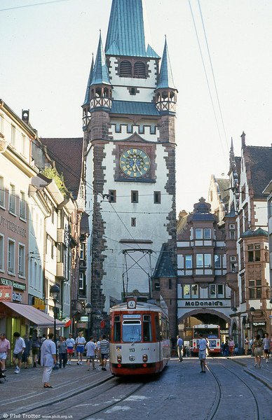Freiburg 113 at Kaiser Joseph Strasse on 2nd August 1993.
