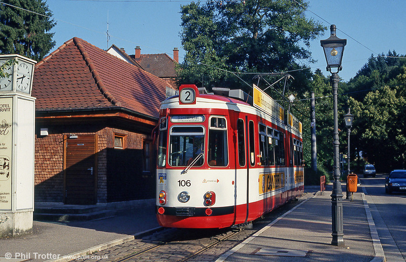 Freiburg GT4 106 at Gunterstal on 2nd August 1993.
