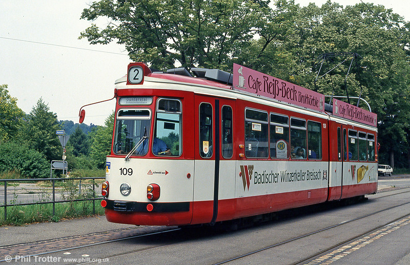 GT4 car 109 at Wonnhalde on 4th August 1993.