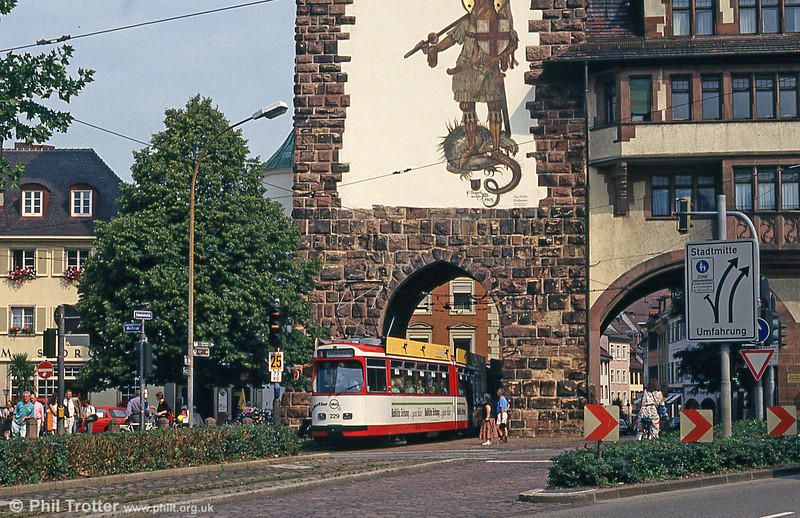 Car 229 at Schwabentor 2nd August 1993.