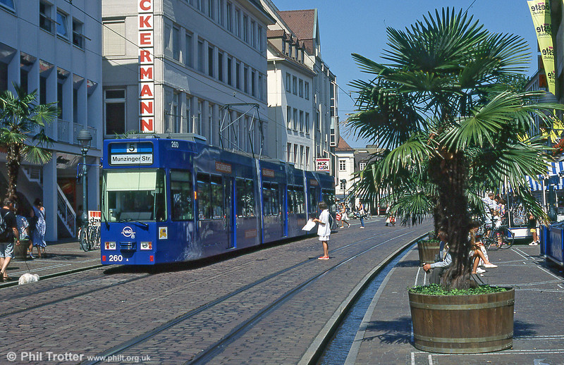 Freiburg 260 in the City Centre in August 1995.